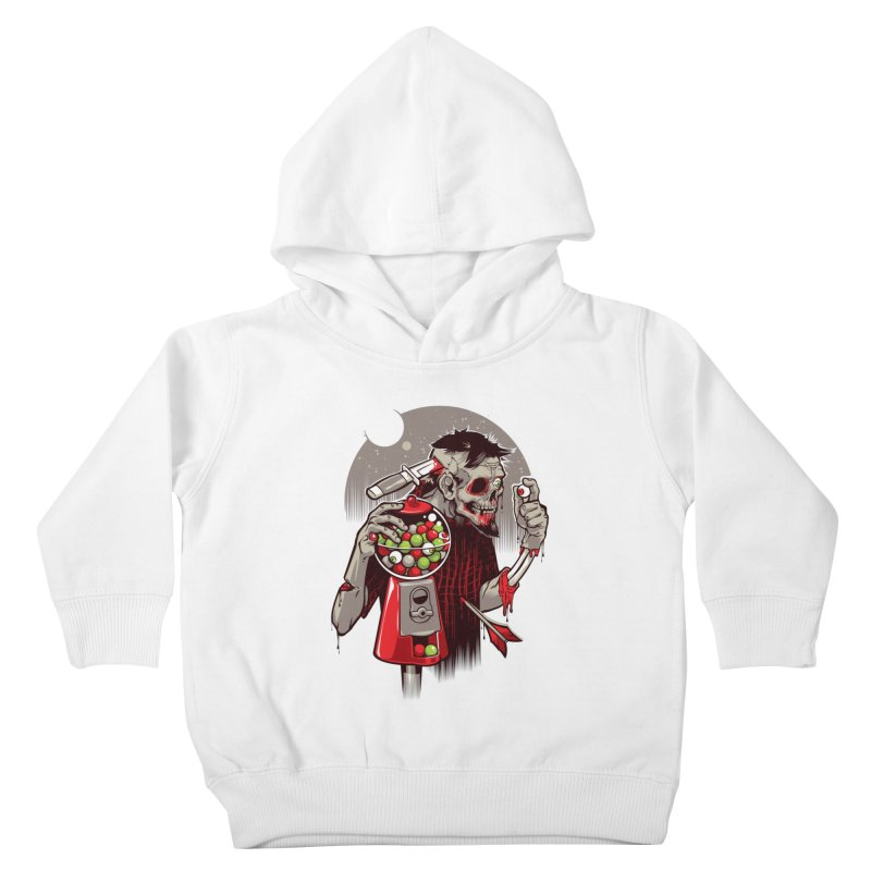 Bubbleye gum Kids Toddler Pullover Hoody by dracoimagem's Artist Shop