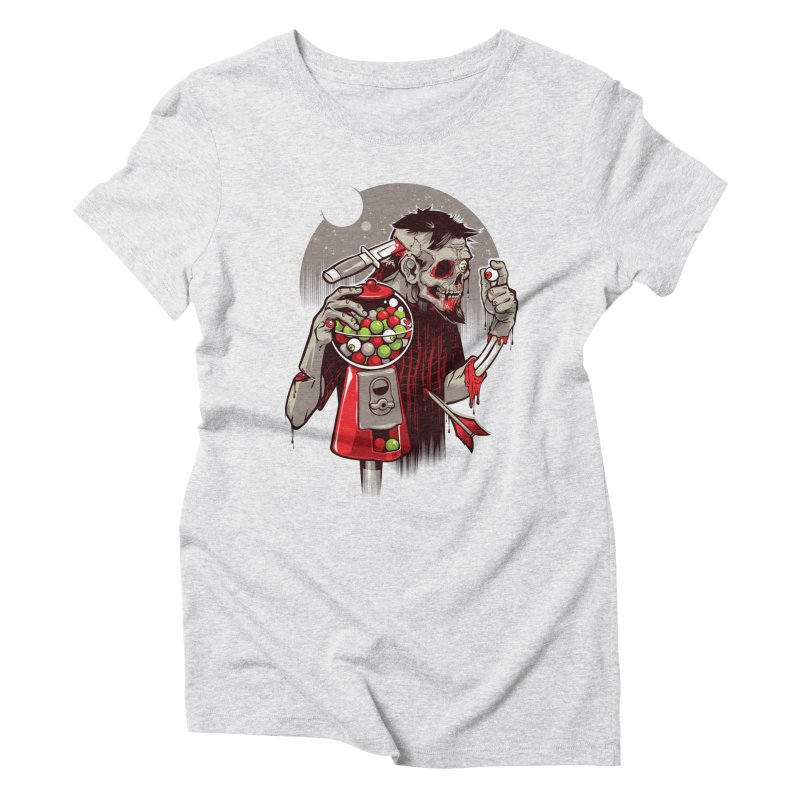 Bubbleye gum Women's Triblend T-Shirt by dracoimagem's Artist Shop