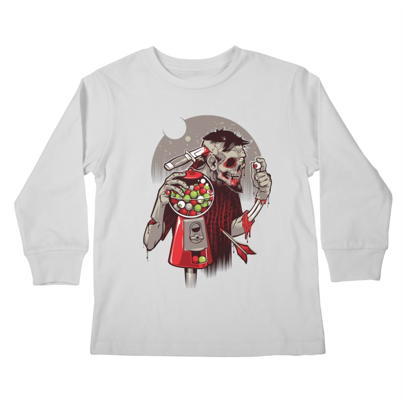 Bubbleye gum Kids Longsleeve T-Shirt by dracoimagem's Artist Shop
