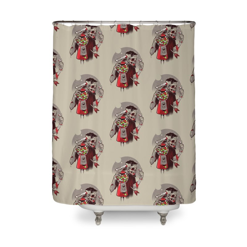 Bubbleye gum Home Shower Curtain by dracoimagem's Artist Shop