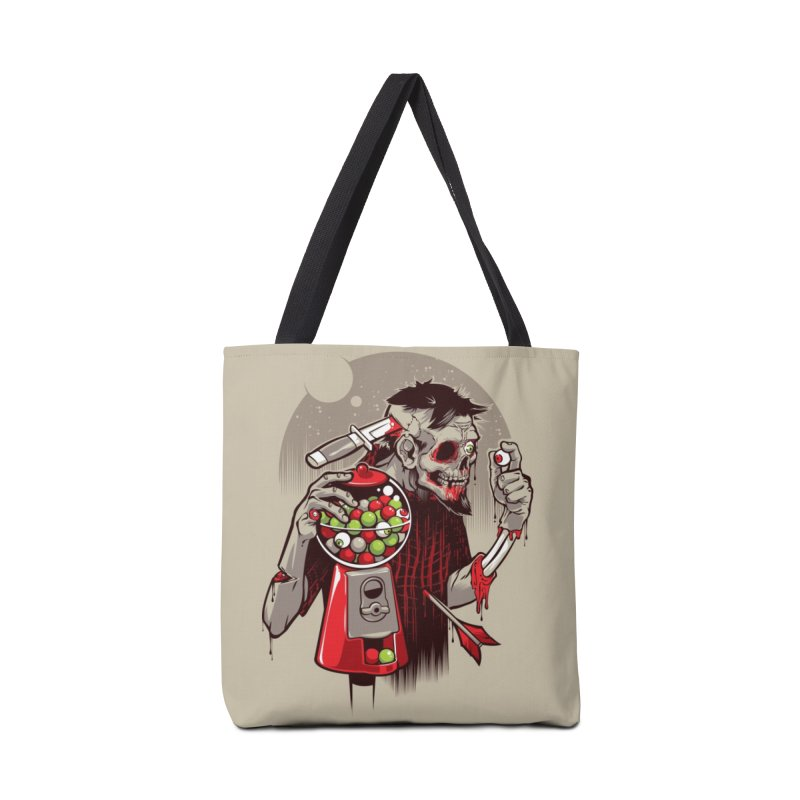 Bubbleye gum Accessories Bag by dracoimagem's Artist Shop