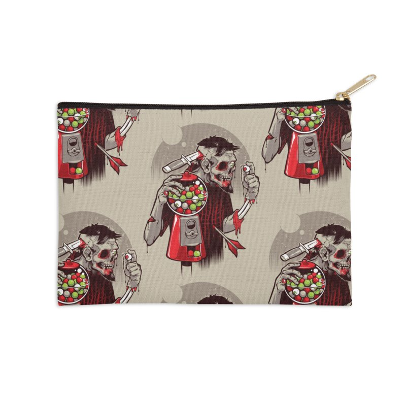 Bubbleye gum Accessories Zip Pouch by dracoimagem's Artist Shop