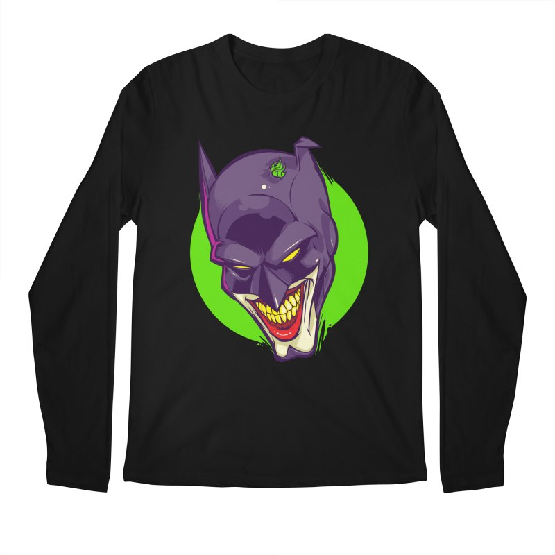 A bat joke Men's Longsleeve T-Shirt by dracoimagem's Artist Shop