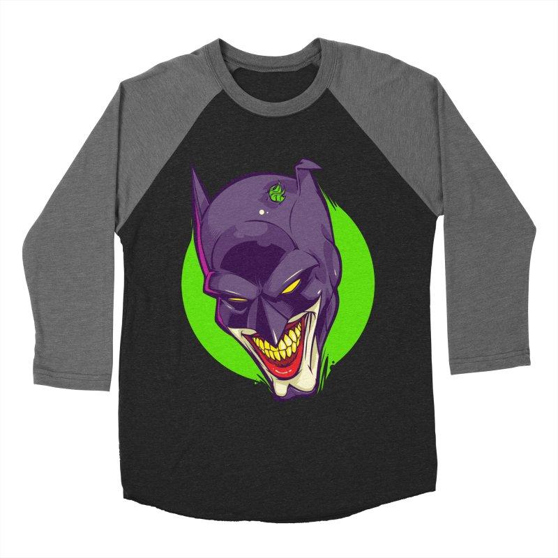 A bat joke Women's Baseball Triblend T-Shirt by dracoimagem's Artist Shop