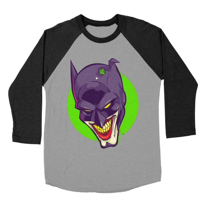 A bat joke Men's Baseball Triblend T-Shirt by dracoimagem's Artist Shop