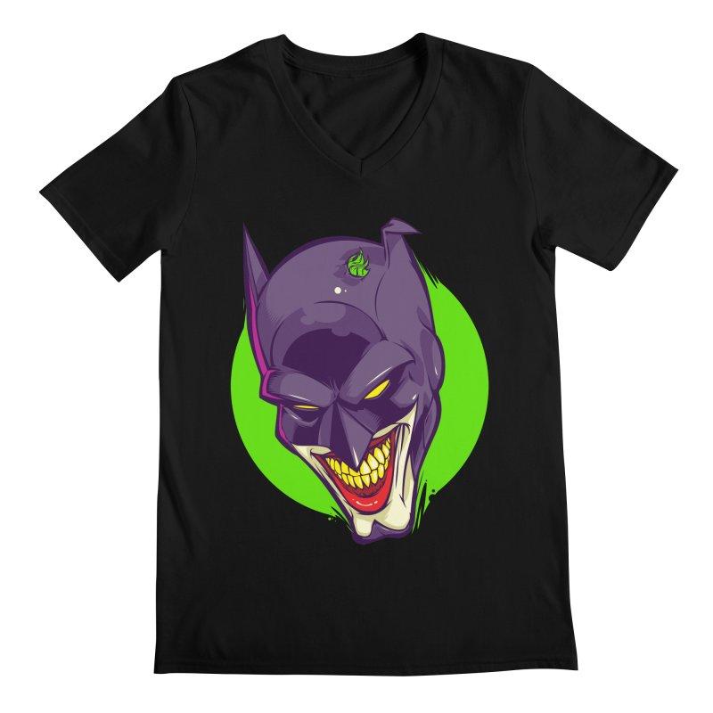 A bat joke Men's V-Neck by dracoimagem's Artist Shop