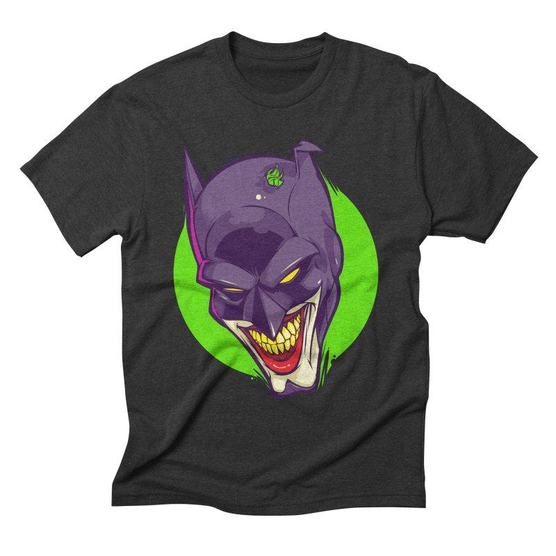 A bat joke Men's Triblend T-shirt by dracoimagem's Artist Shop