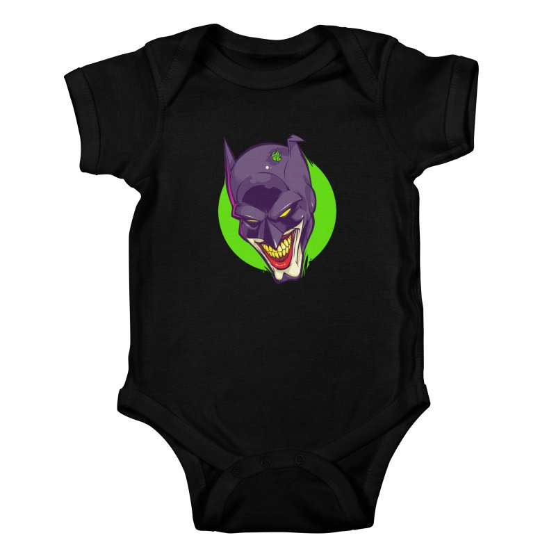 A bat joke Kids Baby Bodysuit by dracoimagem's Artist Shop