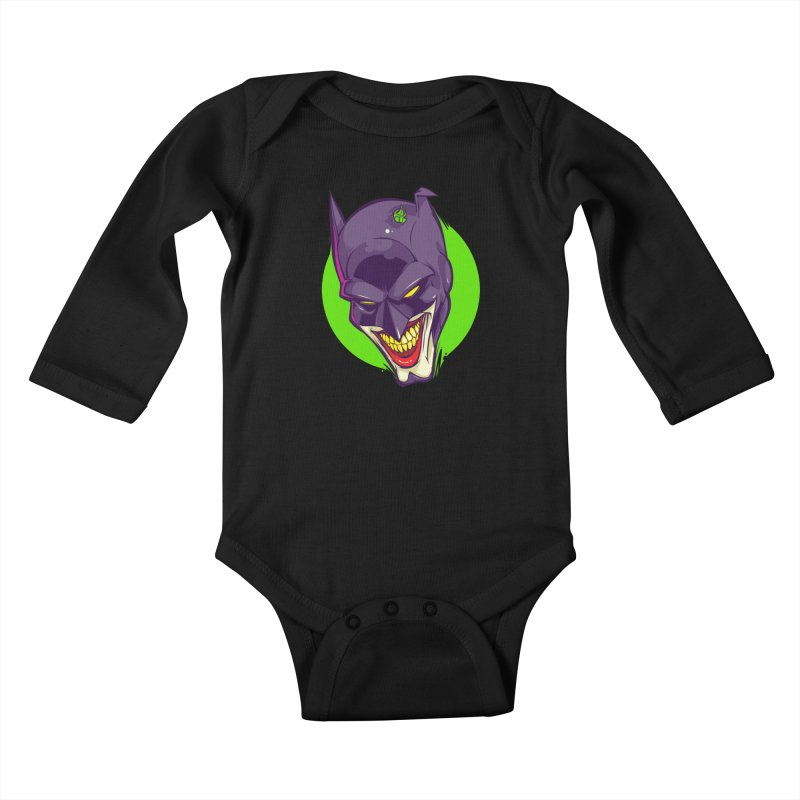 A bat joke Kids Baby Longsleeve Bodysuit by dracoimagem's Artist Shop