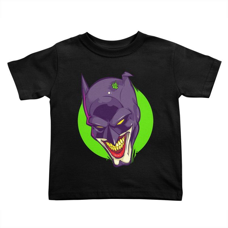 A bat joke Kids Toddler T-Shirt by dracoimagem's Artist Shop