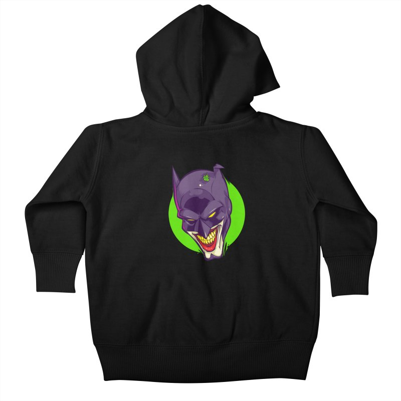 A bat joke Kids Baby Zip-Up Hoody by dracoimagem's Artist Shop