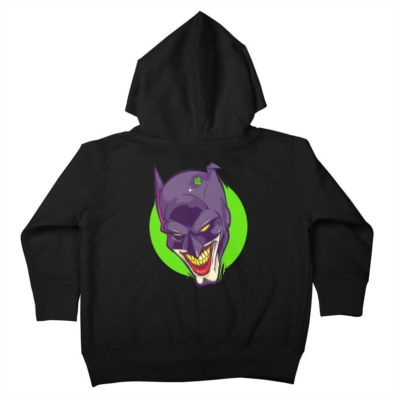 A bat joke Kids Toddler Zip-Up Hoody by dracoimagem's Artist Shop
