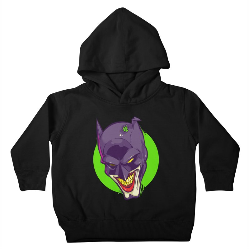 A bat joke Kids Toddler Pullover Hoody by dracoimagem's Artist Shop