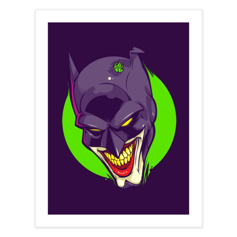 A bat joke Home Fine Art Print by dracoimagem's Artist Shop