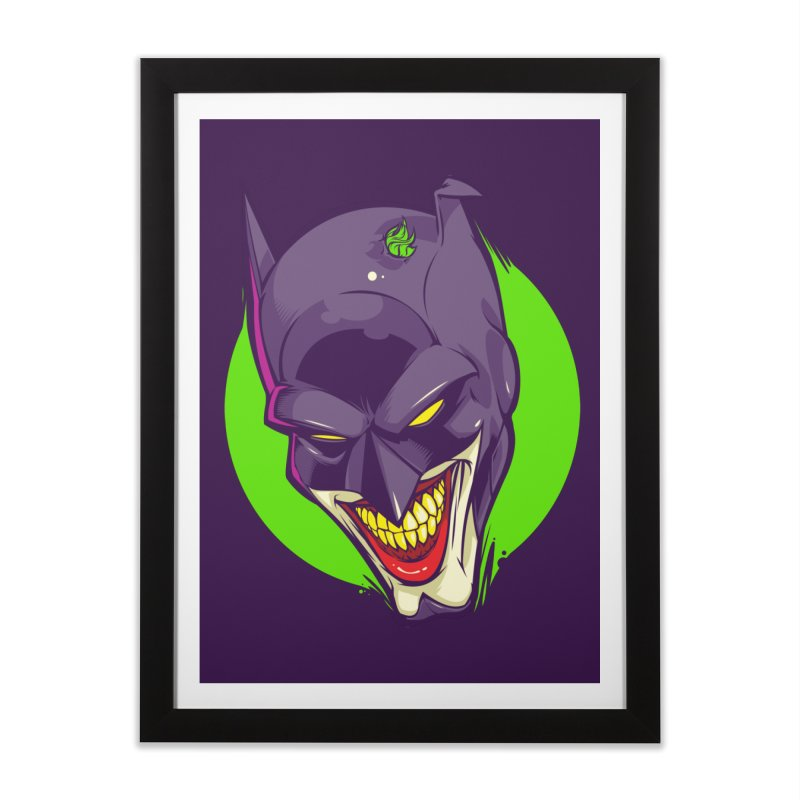 A bat joke Home Framed Fine Art Print by dracoimagem's Artist Shop