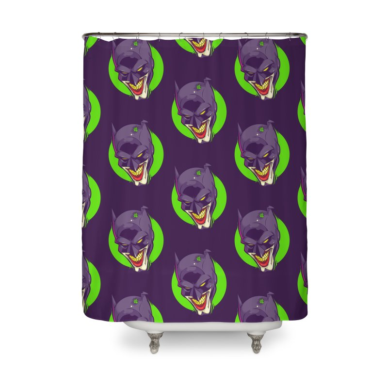 A bat joke Home Shower Curtain by dracoimagem's Artist Shop