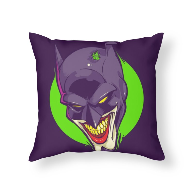 A bat joke Home Throw Pillow by dracoimagem's Artist Shop