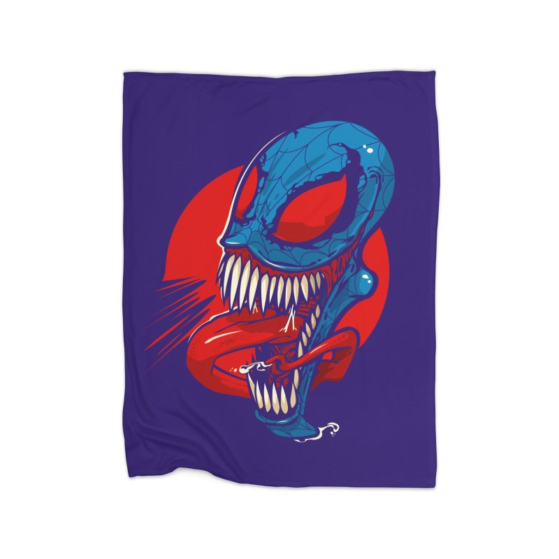 Spidervenomous Home Blanket by dracoimagem's Artist Shop
