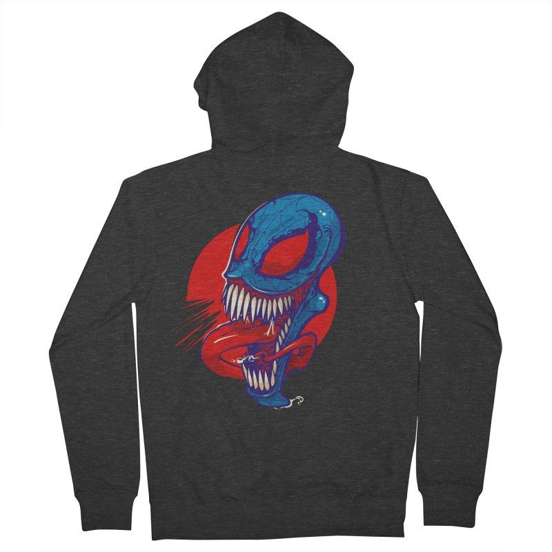 Spidervenomous Men's Zip-Up Hoody by dracoimagem's Artist Shop