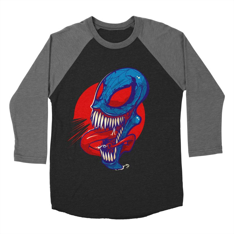 Spidervenomous Men's Baseball Triblend T-Shirt by dracoimagem's Artist Shop