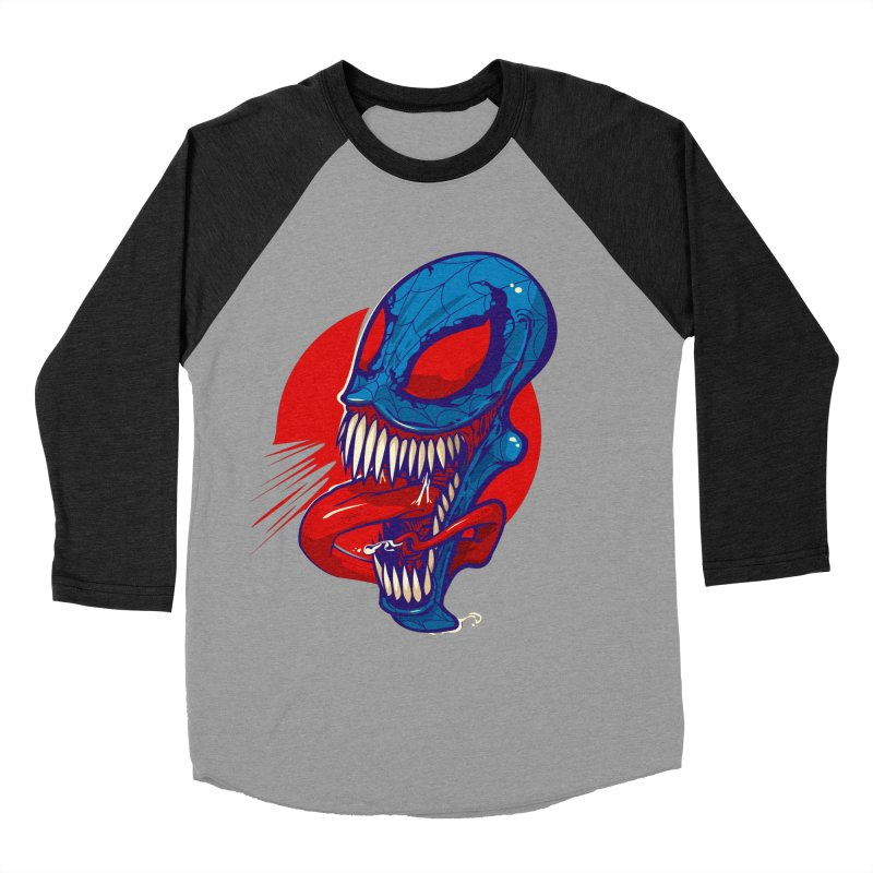 Spidervenomous Men's Baseball Triblend T-Shirt by dracoimagem's Artist Shop