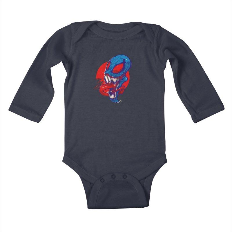 Spidervenomous Kids Baby Longsleeve Bodysuit by dracoimagem's Artist Shop