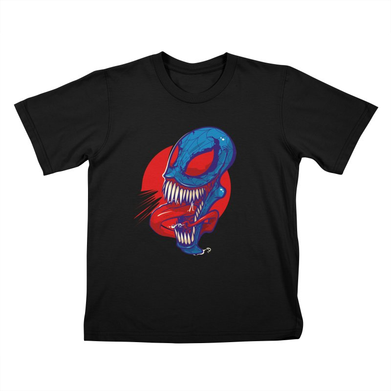 Spidervenomous Kids T-Shirt by dracoimagem's Artist Shop