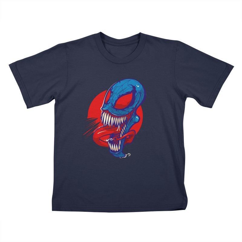 Spidervenomous Kids T-shirt by dracoimagem's Artist Shop
