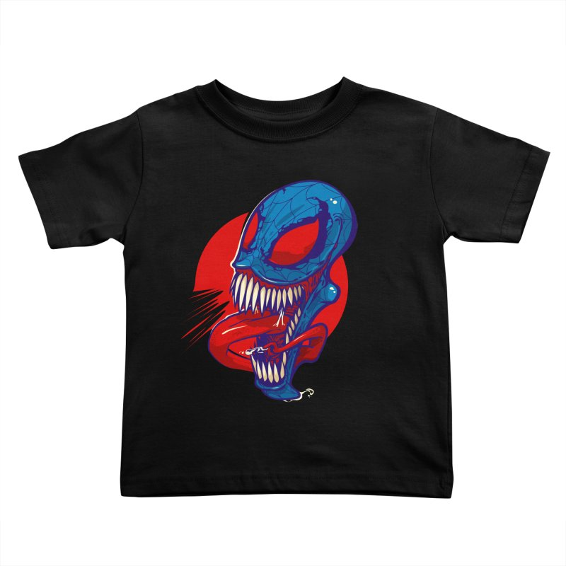 Spidervenomous Kids Toddler T-Shirt by dracoimagem's Artist Shop