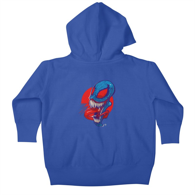 Spidervenomous Kids Baby Zip-Up Hoody by dracoimagem's Artist Shop