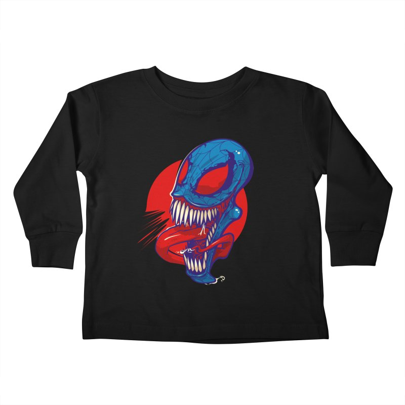 Spidervenomous Kids Toddler Longsleeve T-Shirt by dracoimagem's Artist Shop