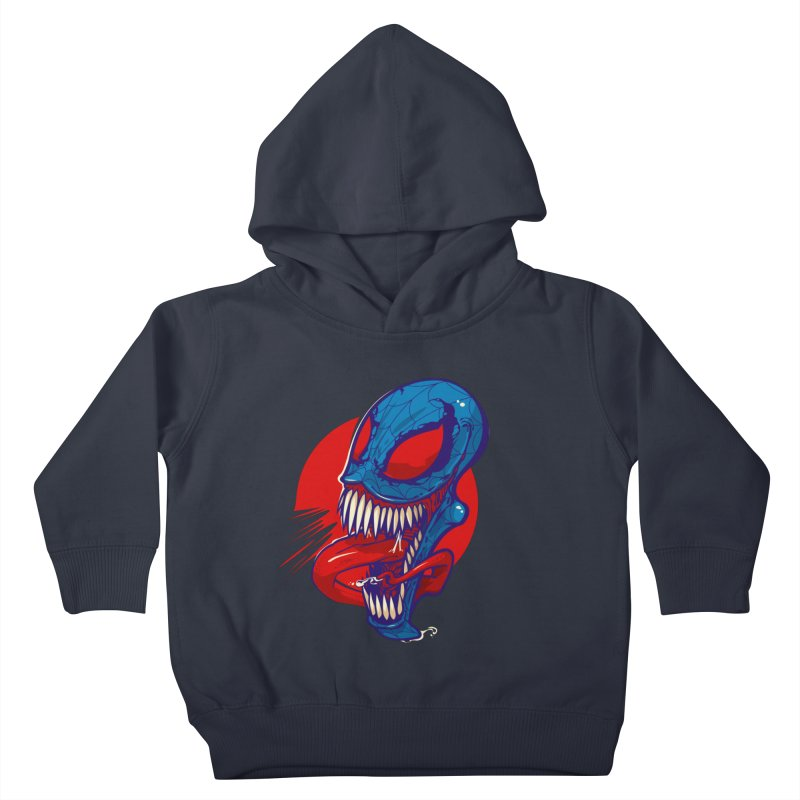 Spidervenomous Kids Toddler Pullover Hoody by dracoimagem's Artist Shop