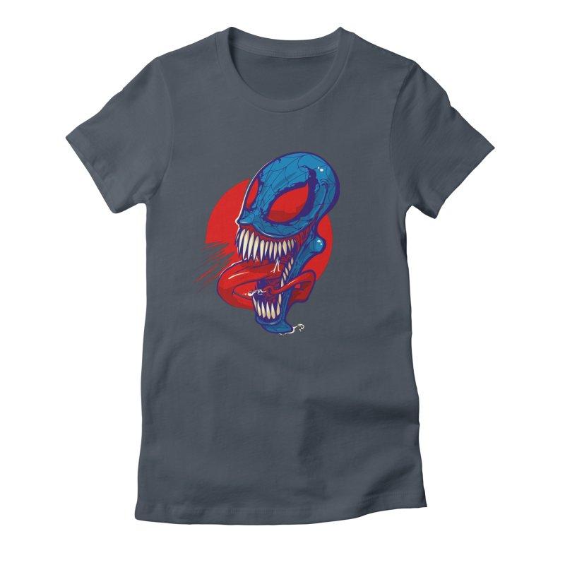 Spidervenomous Women's Fitted T-Shirt by dracoimagem's Artist Shop