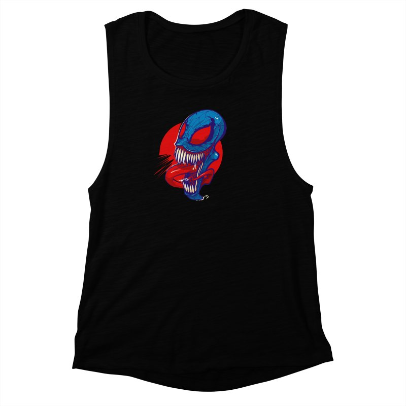 Spidervenomous Women's Muscle Tank by dracoimagem's Artist Shop