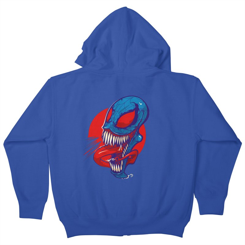 Spidervenomous Kids Zip-Up Hoody by dracoimagem's Artist Shop