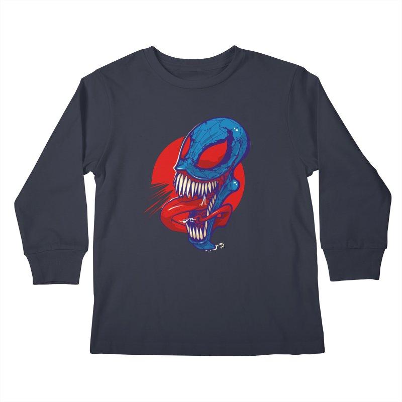 Spidervenomous Kids Longsleeve T-Shirt by dracoimagem's Artist Shop