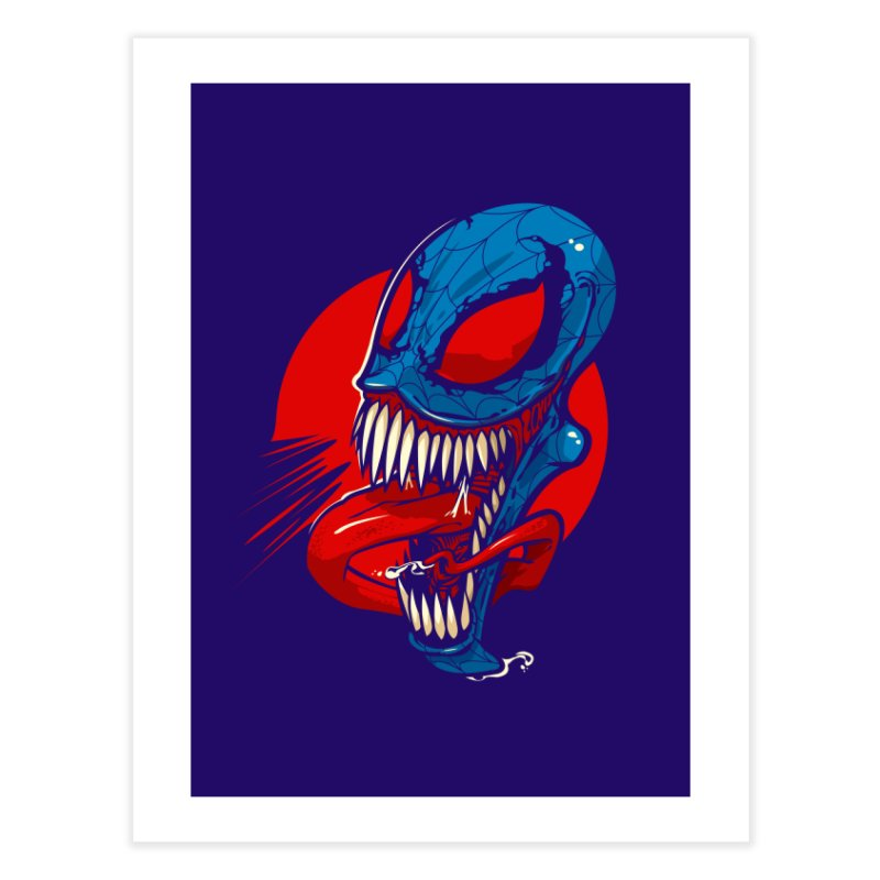 Spidervenomous Home Fine Art Print by dracoimagem's Artist Shop