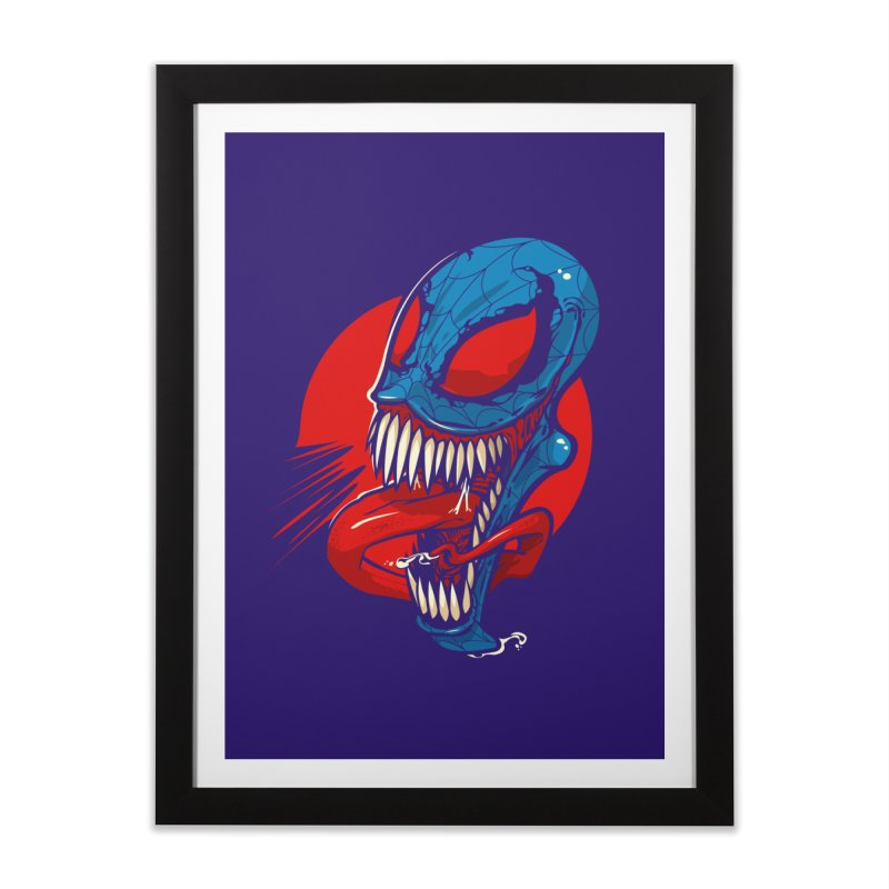 Spidervenomous Home Framed Fine Art Print by dracoimagem's Artist Shop