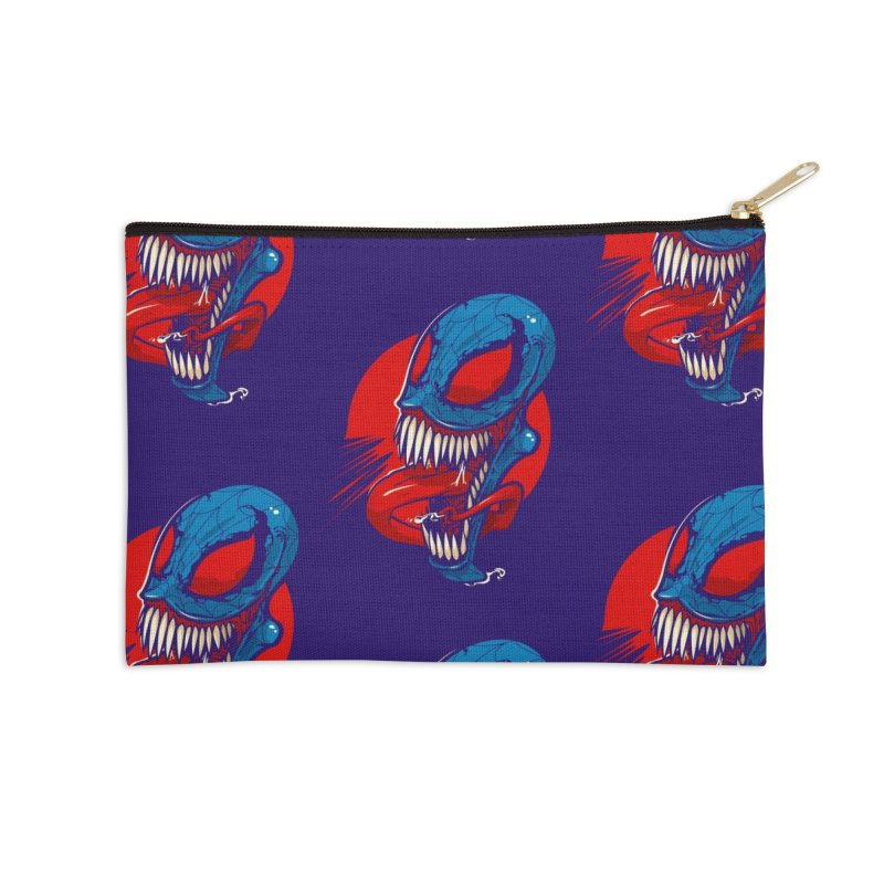 Spidervenomous Accessories Zip Pouch by dracoimagem's Artist Shop