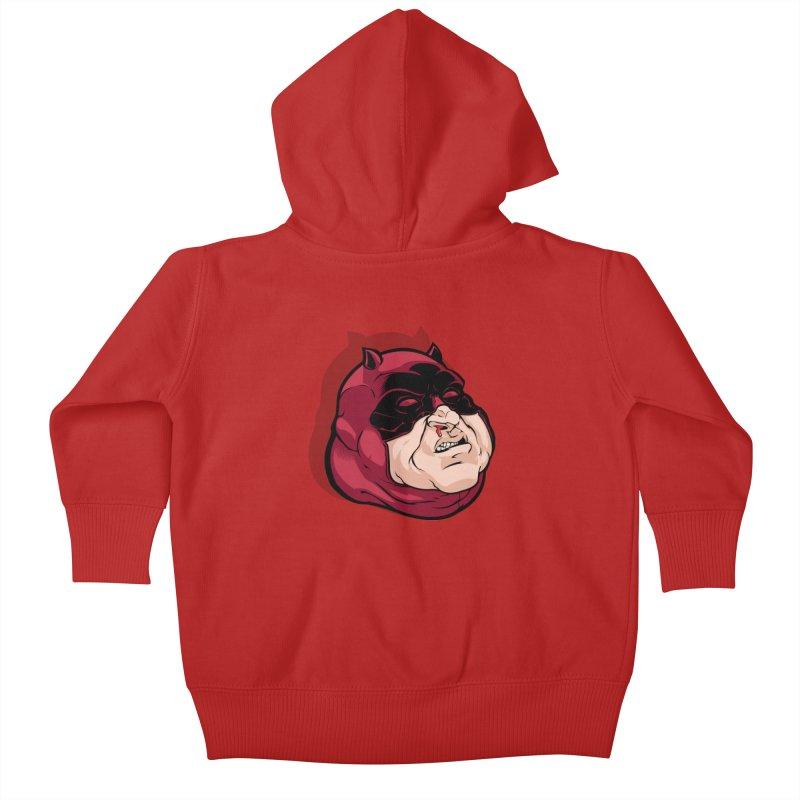 Darepin Kids Baby Zip-Up Hoody by dracoimagem's Artist Shop