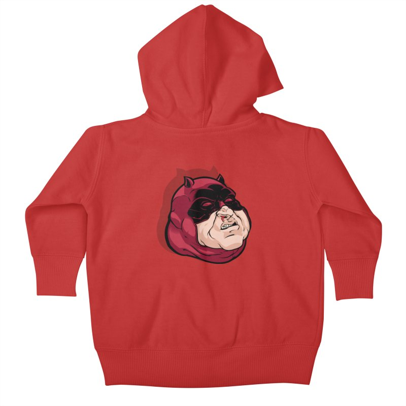 Darepin Kids Baby Zip-Up Hoody by dracoimagem's Artist Shop