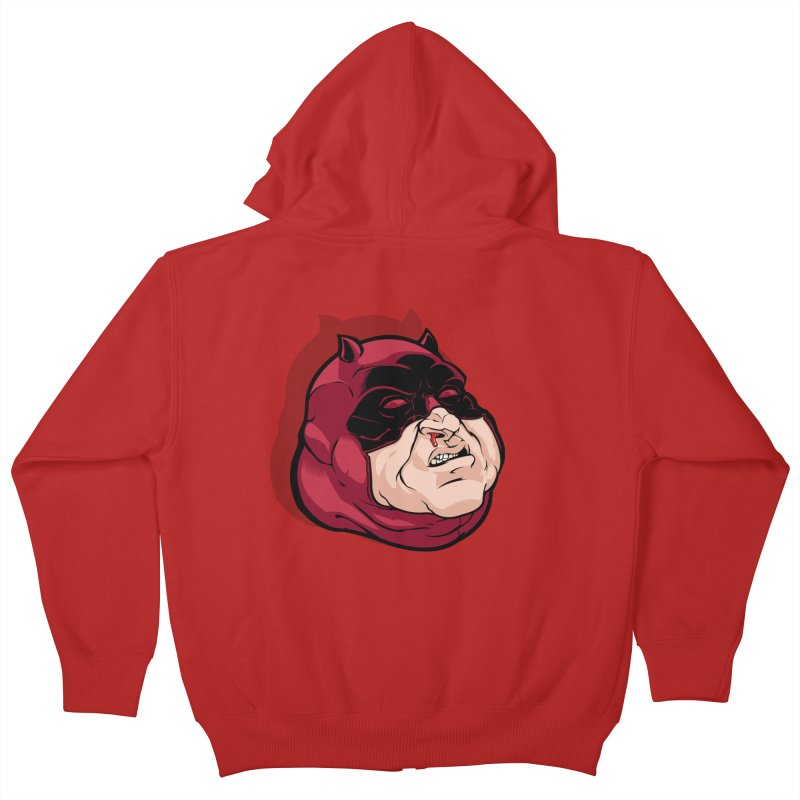 Darepin Kids Zip-Up Hoody by dracoimagem's Artist Shop