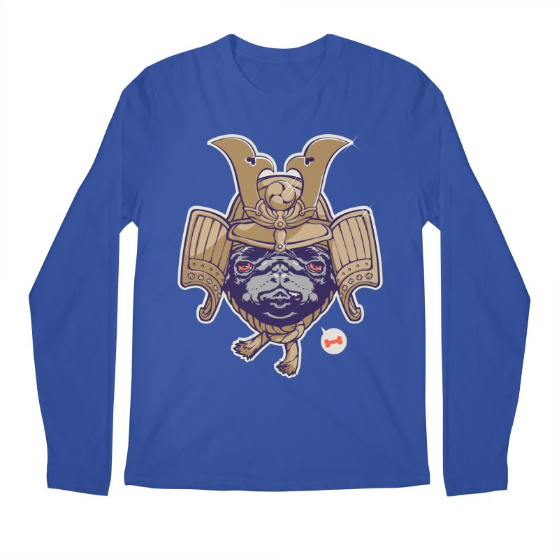 Samurai PUG Men's Longsleeve T-Shirt by dracoimagem's Artist Shop