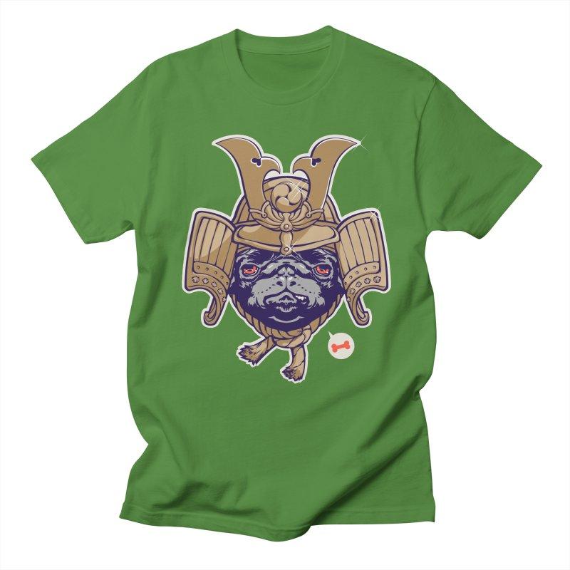 Samurai PUG Women's Unisex T-Shirt by dracoimagem's Artist Shop