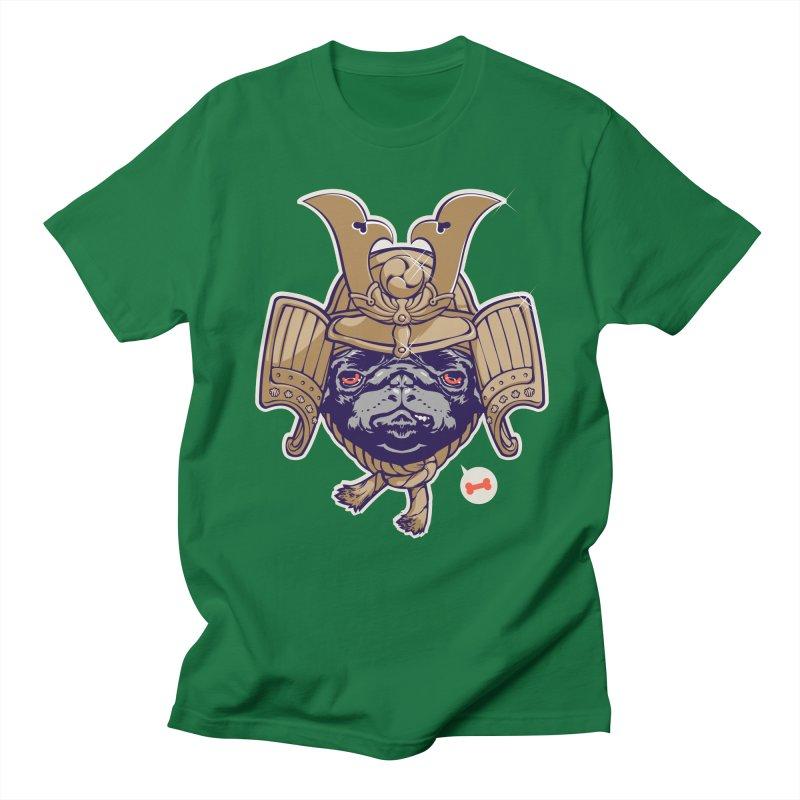 Samurai PUG Men's T-Shirt by dracoimagem's Artist Shop