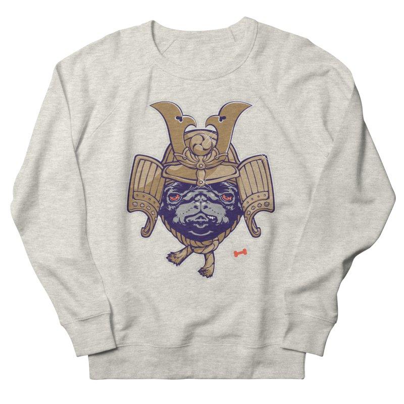Samurai PUG Women's Sweatshirt by dracoimagem's Artist Shop