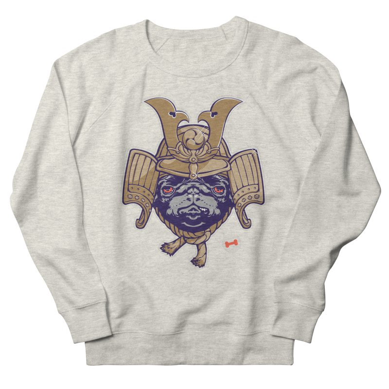 Samurai PUG Men's Sweatshirt by dracoimagem's Artist Shop