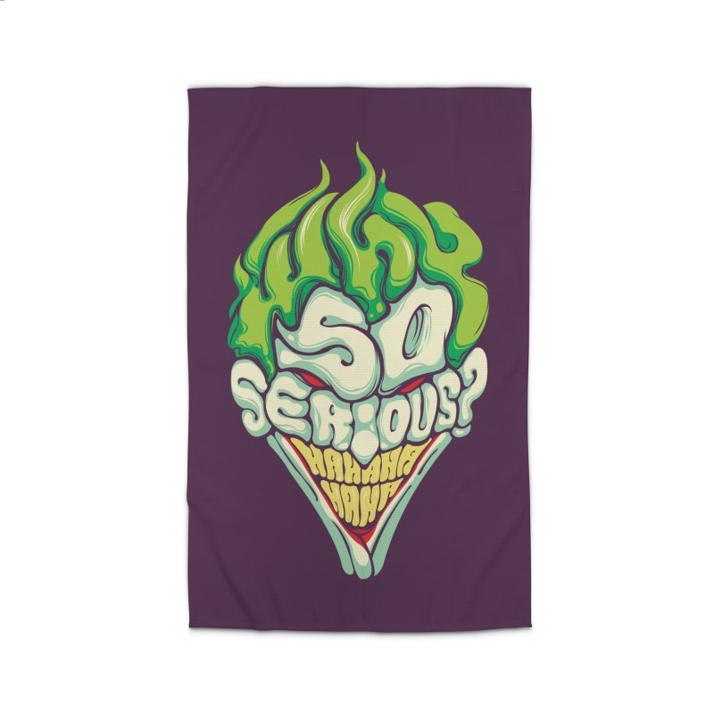 Why so Serious Home Rug by dracoimagem's Artist Shop