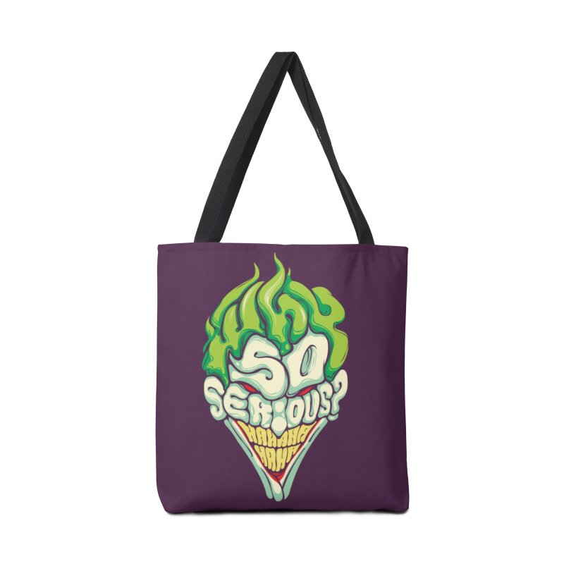 Why so Serious Accessories Bag by dracoimagem's Artist Shop