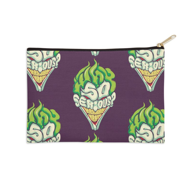 Why so Serious Accessories Zip Pouch by dracoimagem's Artist Shop